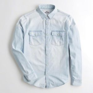 Hollister Chambray Top
